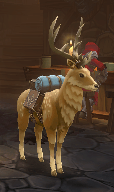 Pet stag