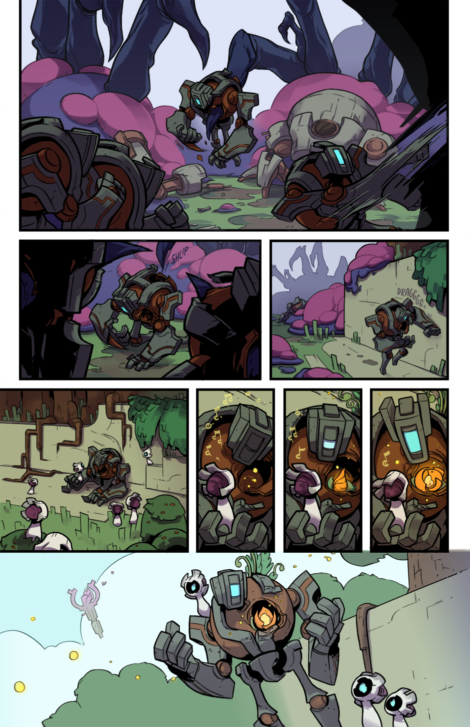 runic games hob prelude comic